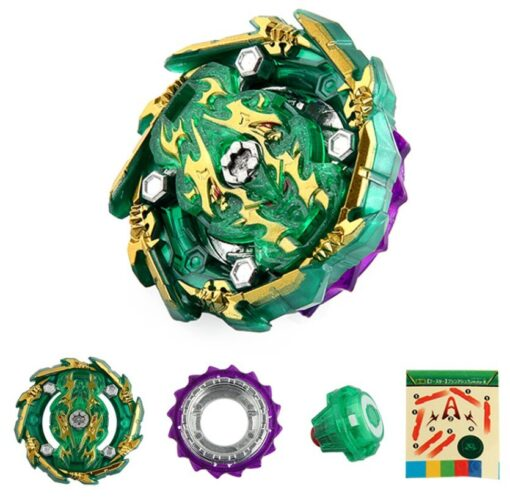 Bayblade Burst Rise Gyroscope B 135 Boxed with Two way Pull Ruler Launcher Assembly Gyro Toy 3