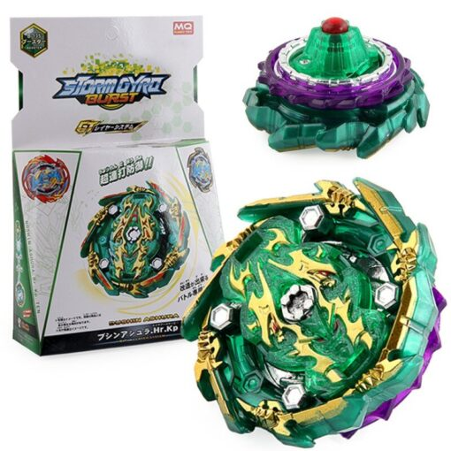 Bayblade Burst Rise Gyroscope B 135 Boxed with Two way Pull Ruler Launcher Assembly Gyro Toy