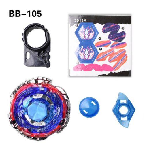Bayblade Cosmic Pegasus Big Bang Pegasis F D Spinning Top BB105 Fight Master Black Wire GRIP 2