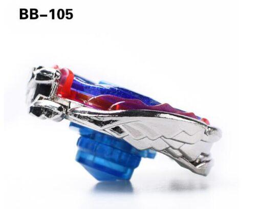 Bayblade Cosmic Pegasus Big Bang Pegasis F D Spinning Top BB105 Fight Master Black Wire GRIP 3