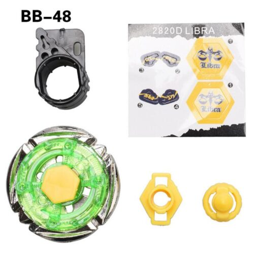 Bayblade Flame Libra T125 Metal Fusion 4D Spinning Top BB48 Without Launcher 4