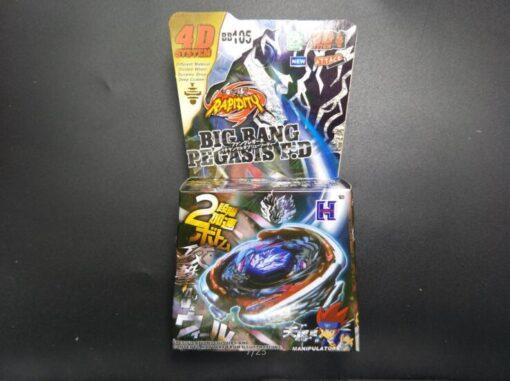 Bayblade Spinning Top Fusion Metal BB105 Big Bang Pegasis Cosmic Pegasus GRIP LR Launcher 2