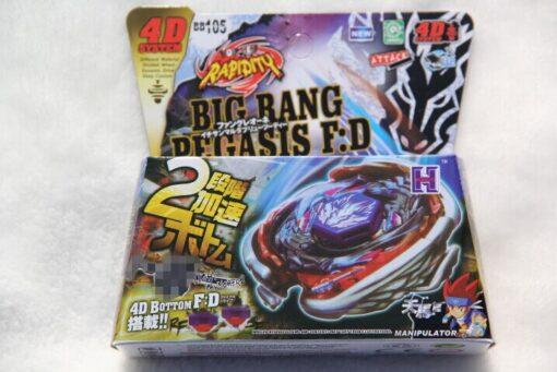 Bayblade WBBA BB105 BIG BANG PEGASIS BLUE WING VERHot Spinning Top Metal Fusion 4D BB105 L 5