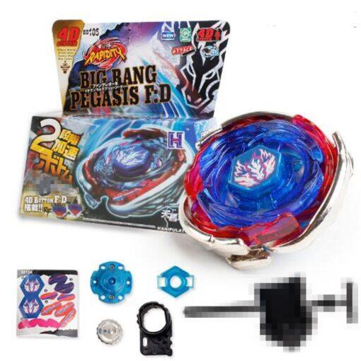 Bayblade WBBA BB105 BIG BANG PEGASIS BLUE WING VERHot Spinning Top Metal Fusion 4D BB105 L