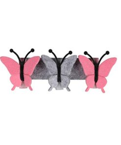 Beautiful Simple Baby Crib Room Decoration Mobile Butterflies In The White Clouds Baby Ceiling Hanging Nursery 2