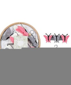 Beautiful Simple Baby Crib Room Decoration Mobile Butterflies In The White Clouds Baby Ceiling Hanging Nursery 3