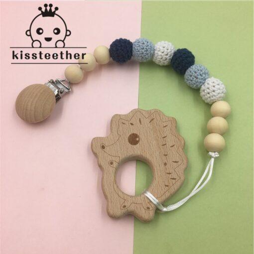 Beech Wooden Chewable 10 20mm Round Beads Ecofriendly Beech Beads DIY Craft Jewelry Accessories Baby Teether 5