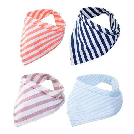 Bibs Baby Boys Girls Feeding Burp Cloths Baby Bibs Towel Cute Children Cravat Baby Stuff Infant 4