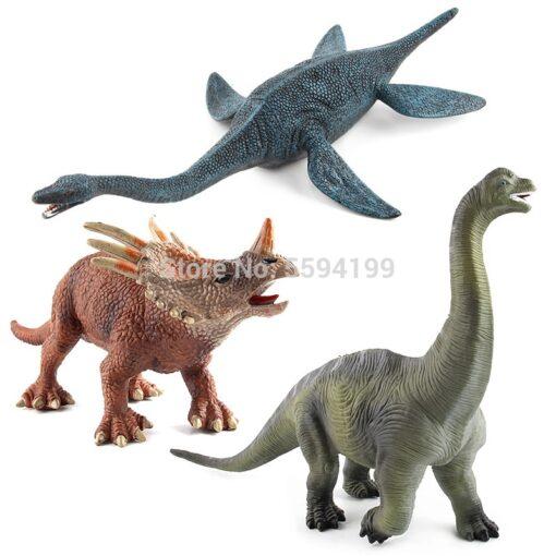Big Size Dinosaur Toy Plastic Gorilla Toys Dinosaur Model Brachiosaurus Plesiosaur Action Figures Kids Boy Gift 3