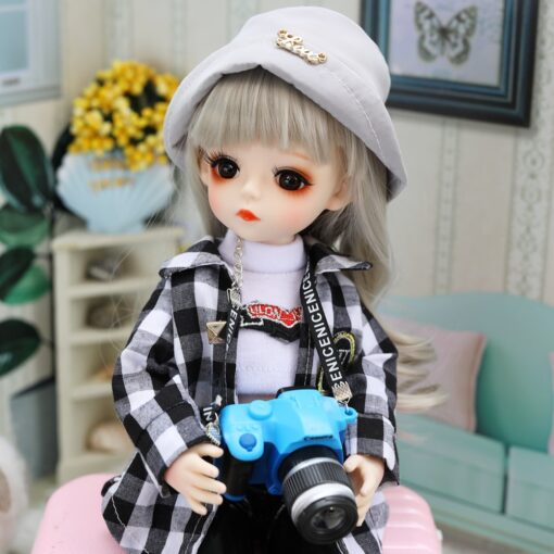 Bjd Doll 30CM Gifts For Girl 18 Joints DIY Dolls With Clothes Best Gifts For Girl 2