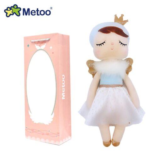 Boxed Metoo Doll kawaii Plush Soft Stuffed Plush Animals Baby Kids Toys for Children Girls Boys 3