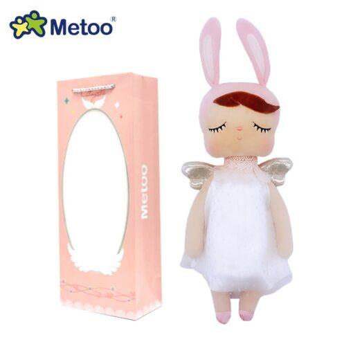 Boxed Metoo Doll kawaii Plush Soft Stuffed Plush Animals Baby Kids Toys for Children Girls Boys