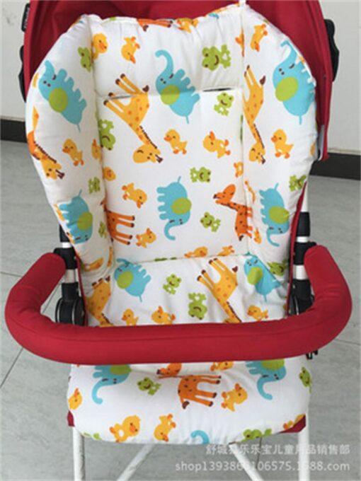Brand Baby Stroller Pad Child Cart Seat Mat Four Seasons General Soft Seat Cushion Kids Pushchair 2