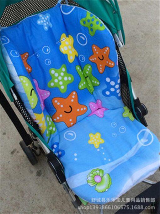 Brand Baby Stroller Pad Child Cart Seat Mat Four Seasons General Soft Seat Cushion Kids Pushchair 5