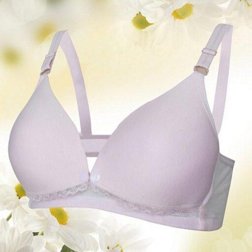 Breast Feeding Cotton Maternity Nursing Bras Sleep Bra For Feeding Pregnant Women Soutien Gorge Allaitement Underwear 4