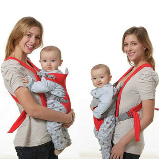 Breathable Front Facing Baby Carrier Comfortable Sling Backpack Pouch Wrap Baby Kangaroo Adjustable Safety Carrier 4