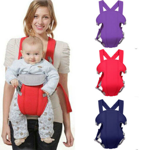 Breathable Front Facing Baby Carrier Comfortable Sling Backpack Pouch Wrap Baby Kangaroo Adjustable Safety Carrier 5