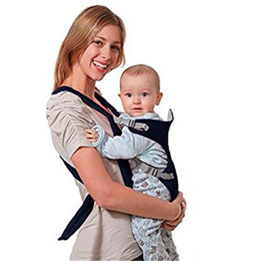Breathable Newborn Infant Baby Simple Toddler Cradle Pouch Sling Carrier Comfortable Baby Carrier Adjustable Shoulder Belt 11