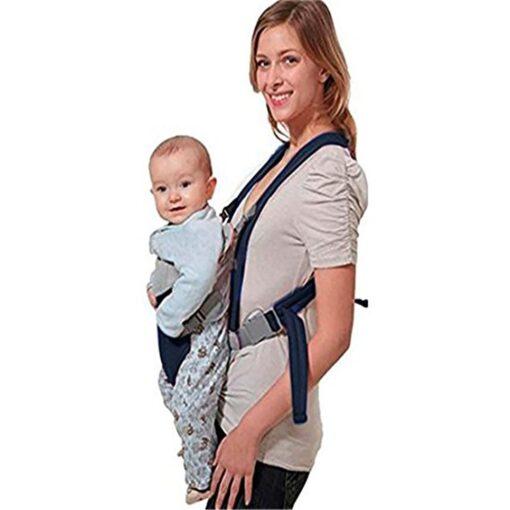 Breathable Newborn Infant Baby Simple Toddler Cradle Pouch Sling Carrier Comfortable Baby Carrier Adjustable Shoulder Belt 7