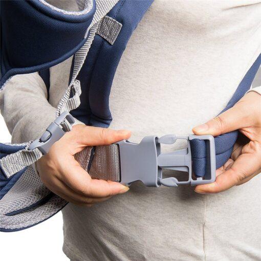 Breathable Newborn Infant Baby Simple Toddler Cradle Pouch Sling Carrier Comfortable Baby Carrier Adjustable Shoulder Belt 8