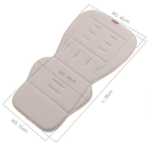 Breathable Stroller Accessories Universal Mattress In A Stroller Four Seasons Soft Pad Accessories Baby Pram Liner 5