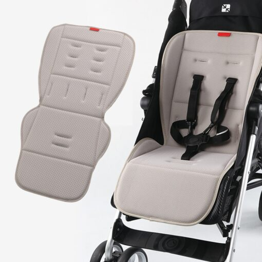 Breathable Stroller Mattress Baby Accessories Universal Carriages Pram Buggy Car Seat Mat Soft Cotton Stroller Seat