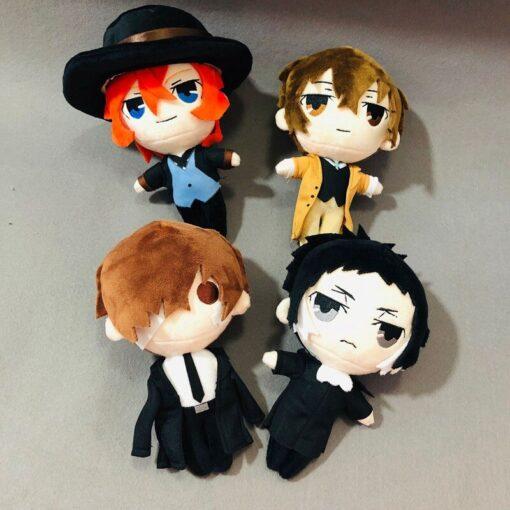 Bungo Stray Dogs Plush Doll Bungou Stray Dogs Stuffed Toy Anime PP Cotton Tsumamarekko Dazai Atsushi 1