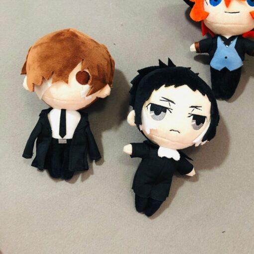 Bungo Stray Dogs Plush Doll Bungou Stray Dogs Stuffed Toy Anime PP Cotton Tsumamarekko Dazai Atsushi 4