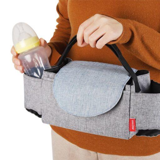 CYSINCOS Baby Stroller Accessoris Bag New Cup Bag Stroller Organizer Baby Carriage Pram Buggy Cart Bottle 2