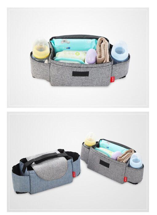 CYSINCOS Baby Stroller Accessoris Bag New Cup Bag Stroller Organizer Baby Carriage Pram Buggy Cart Bottle 3