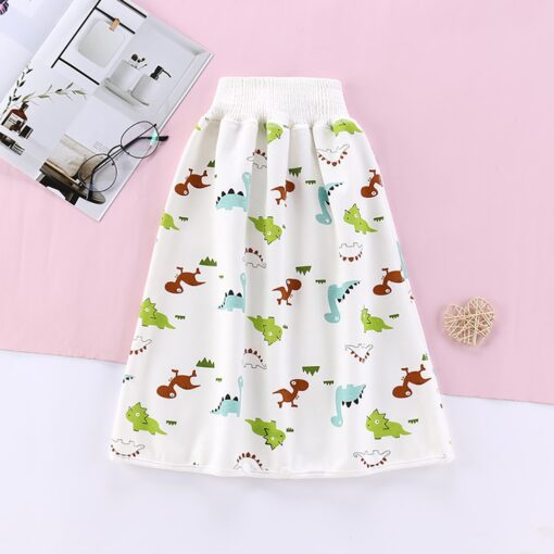 Cartoon Baby Diaper Skirt Baby Waterproof Cloth Diaper Leak proof Mattress Washable Cotton Children Urine proof 1