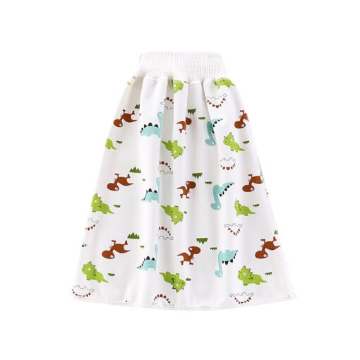 Cartoon Baby Diaper Skirt Baby Waterproof Cloth Diaper Leak proof Mattress Washable Cotton Children Urine proof 3