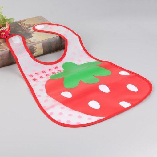 Cartoon Baby Feeding Cloth Towels EVA Waterproof Lunch Feeding Bibs for Newborn Apron Baby Burp Cloths 4
