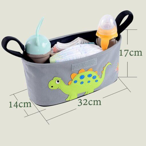 Cartoon Baby Stroller Organizer Bag Baby Pushchair Diaper Nappy Bag Pram Organizer Mom Travel Bags Stroller 3