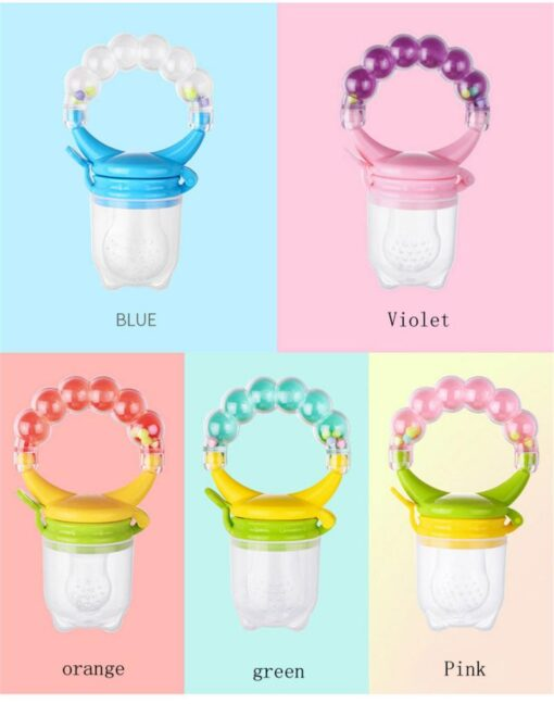 Cartoon Baby Teethers Infant Rattles Teether Toy Educational Mobiles Toys Baby Silicone Teether Teething Biting Tools 2