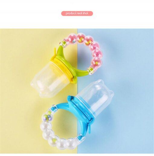 Cartoon Baby Teethers Infant Rattles Teether Toy Educational Mobiles Toys Baby Silicone Teether Teething Biting Tools 4