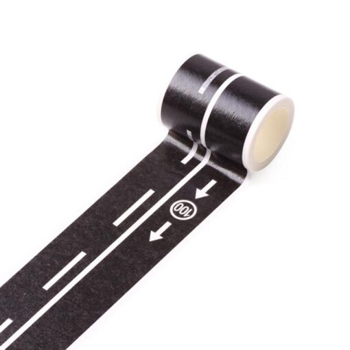 Ccreative DIY Traffic Road Railway Removable Track Floor Stickers Car Play Kids Room Decoration Wall Sticker