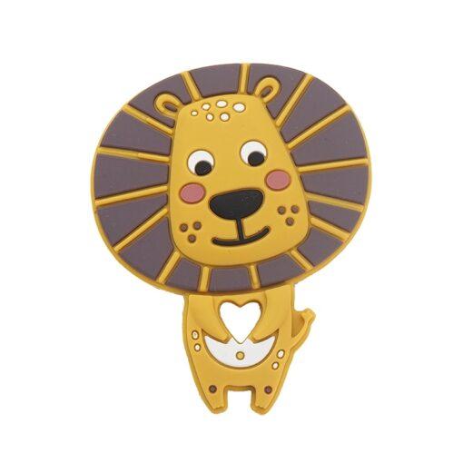 Chenkai 1pc Silicone Princess Soldier Lion Castle Rocket Sushi Rainbow Cake Fox Teething DIY Baby Dummy 1
