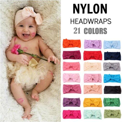 Child Baby headband turban For Girl newborn Toddler Turban Knot Kids Turbans newborn baby girl headbands