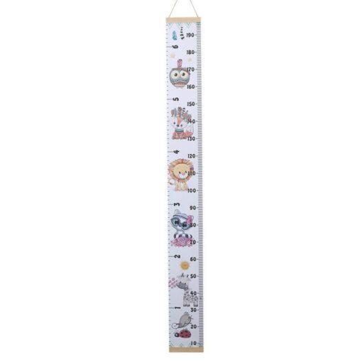 Children Height Ruler Hanging Kids Growth Chart Wall Sticker Rule Growth Table Wall Sticker Decor Height 5