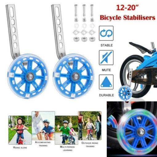 Children Kid Bicycle Bike Cycling Stabilisers Universal Bicycle Training Wheels For 12 20 Inch Bike Mute