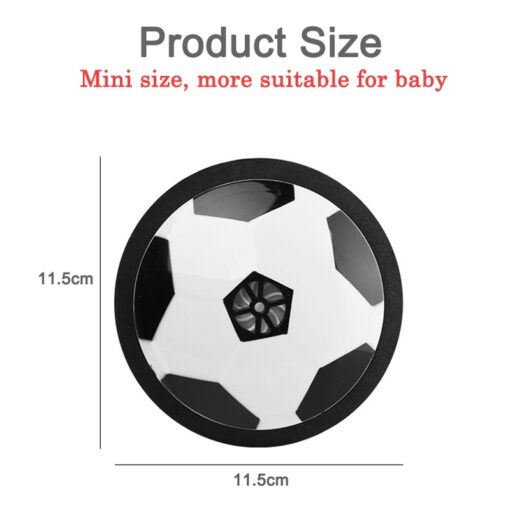 Children Mini Development Toy Ball Toys Hovering Multi surface Indoor Gliding Air Suspended Football Football Floating 3