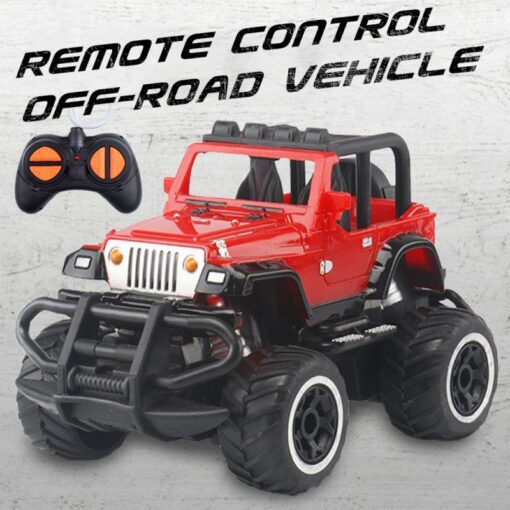 Children s Four way Remote Control Car Electric Wireless Remote Control Off road Vehicle Model Boy 1