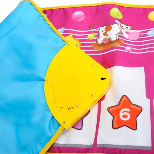 Children s Fun Music Piano Blanket Education Learning Environmental Protection Children s Multifunctional Game Crawling Mat 2