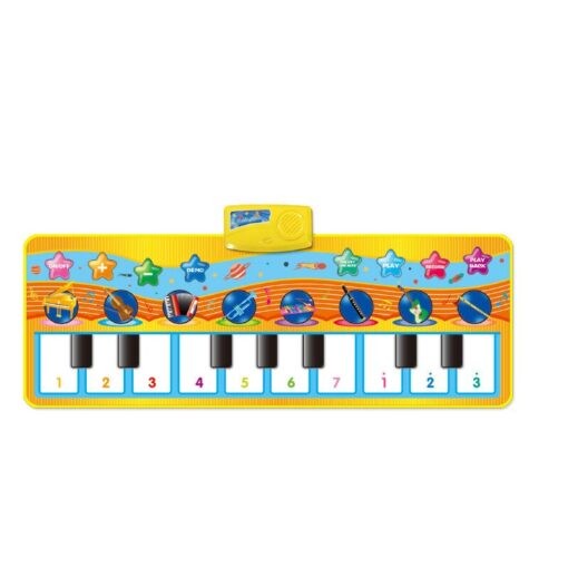 Children s Fun Music Piano Blanket Education Learning Environmental Protection Children s Multifunctional Game Crawling Mat 5