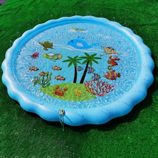 Children s Inflatable Game Pad Water Toy Pad Baby Outdoor Garden Sprinkler Splash Pad Kids Beach 2