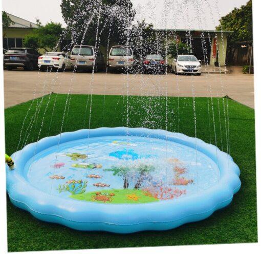 Children s Inflatable Game Pad Water Toy Pad Baby Outdoor Garden Sprinkler Splash Pad Kids Beach 4