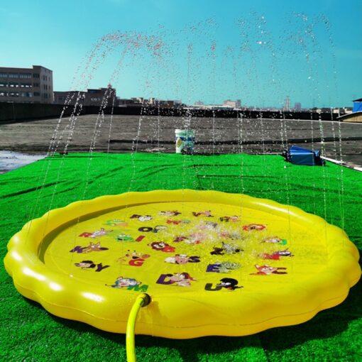 Children s Inflatable Game Pad Water Toy Pad Baby Outdoor Garden Sprinkler Splash Pad Kids Beach 5