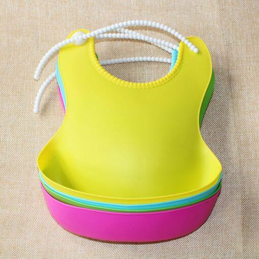 Children s Three dimensional Waterproof Bib Baby Disposable Bib Baby Silicone Soft Bib Maternal And Child 10