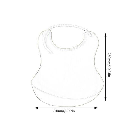 Children s Three dimensional Waterproof Bib Baby Disposable Bib Baby Silicone Soft Bib Maternal And Child 11